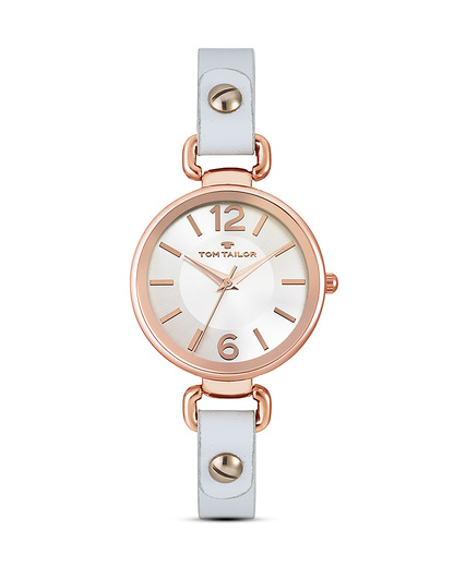 Quarzuhr 5413002 TOM TAILOR roségold,weiß 3660895810688