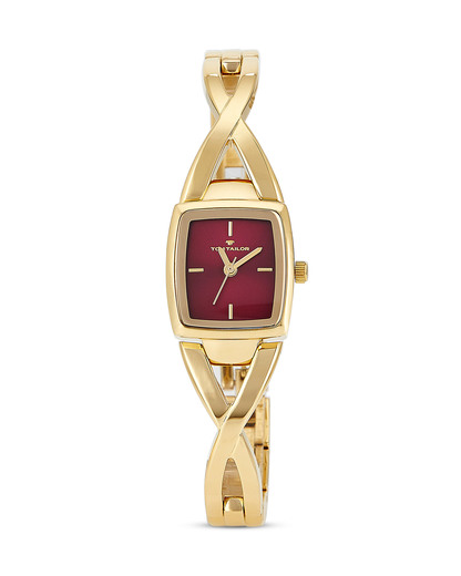 Quarzuhr 5413603 TOM TAILOR gold,rot 3660895847783