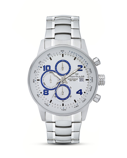 Chronograph 5414002 TOM TAILOR blau,silber 3660895847882