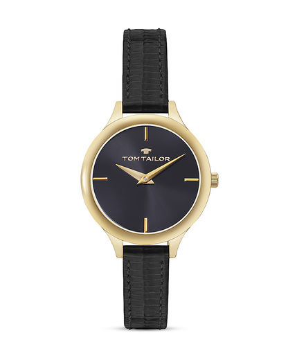 Quarzuhr 5414801 TOM TAILOR gold,schwarz 3660895871993