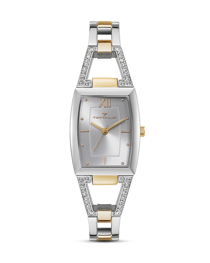 Quarzuhr 5414502 TOM TAILOR gold,silber 3660895871917