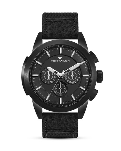 Quarzuhr 5414901 TOM TAILOR schwarz 3660895872037