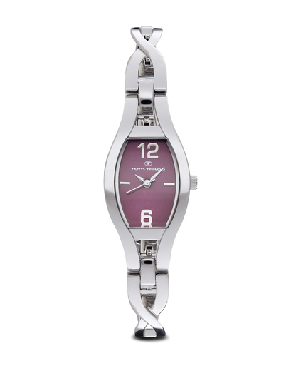 Quarzuhr 5405402 TOM TAILOR silber,violett 3660895429736