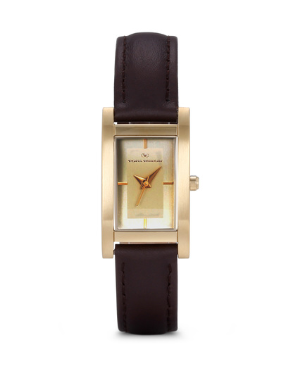 Quarzuhr 5410903 TOM TAILOR braun,gold 3660895700323