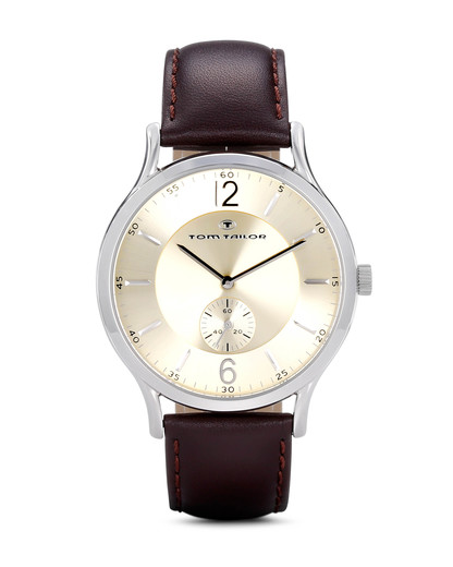 Quarzuhr 5411603 TOM TAILOR braun,gold,silber 3660895700552