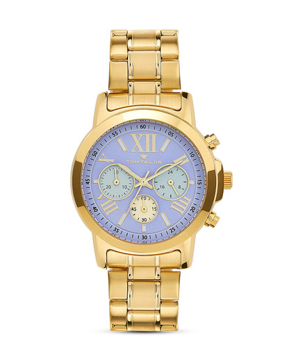 Chronograph 5416403  TOM TAILOR blau,gold 4048839802231