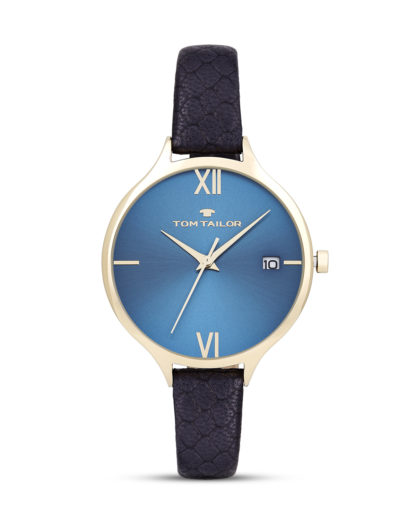 Quarzuhr 5416004 TOM TAILOR blau,gold 4048839802101