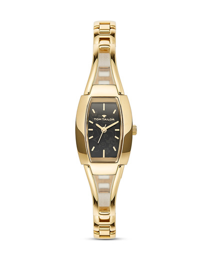 Quarzuhr 5412803 TOM TAILOR gold,schwarz 4048839802040