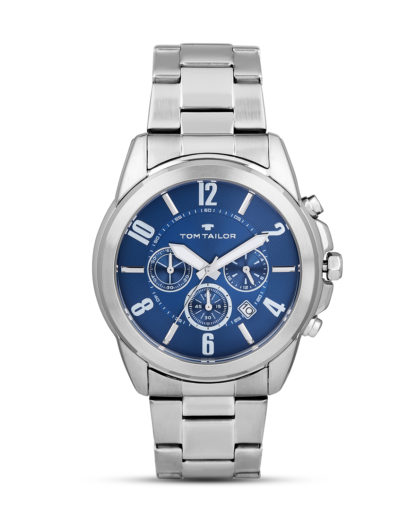 Chronograph 5416703 TOM TAILOR blau,silber 4048839802309