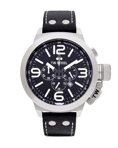 Chronograph Canteen Style TW 4 TW Steel schwarz,silber 4046261700040