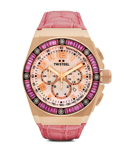 Chronograph CEO Tech Kelly Rowland Special Edition TWCE4006 TW Steel mehrfarbig,rosa,roségold 4046261702884