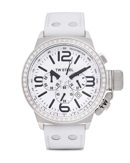 Chronograph Canteen Style TW 10 TW Steel silber,weiß 4046261700101