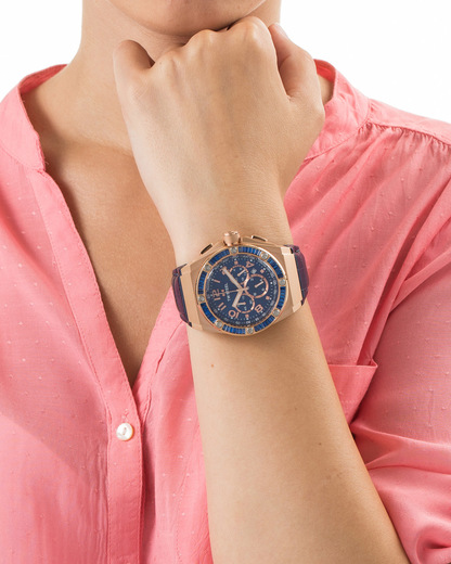 Chronograph CEO Tech Kelly Rowland Special Edition TWCE4007 TW Steel Damen Leder 4046261702891