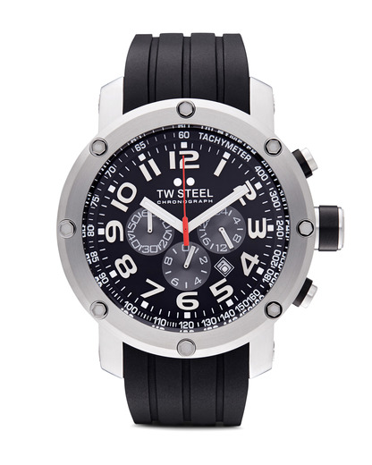 Chronograph New Tech TW-121 TW Steel schwarz,silber 4046261701795