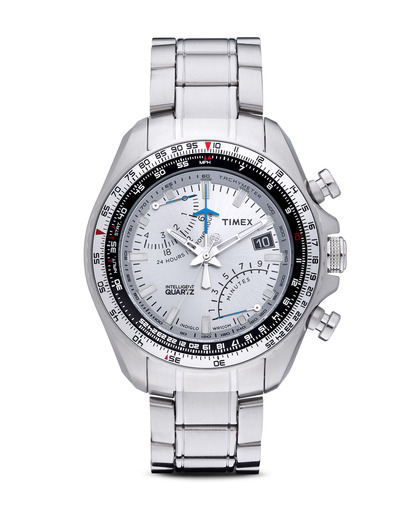 Chronograph Intelligent Quartz™ Aviator Fly-Back Chrono T2P104 TIMEX silber 753048442669