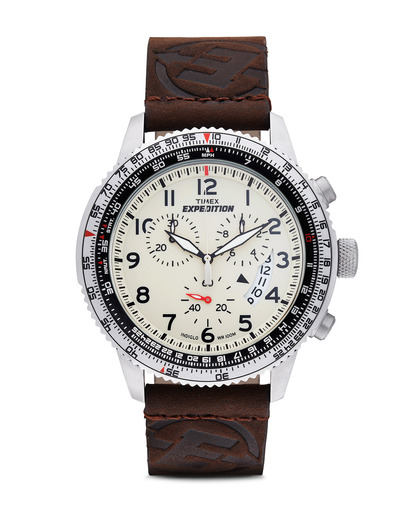 Chronograph Expedition Military Chrono T49893 TIMEX beige,braun,silber 753048414178