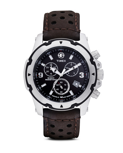 Chronograph Expedition Rugged Field Chrono T49627 TIMEX braun,silber 753048285877