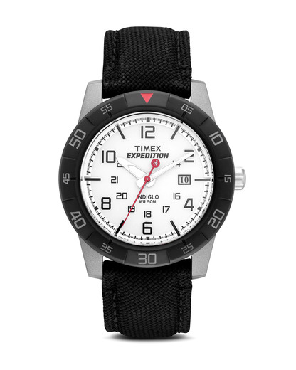 Quarzuhr Expedition Rugged Analog T49863 TIMEX grau,schwarz,weiß 753048378401