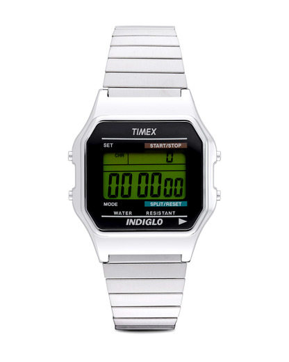Digitaluhr Core Digital T78587 TIMEX schwarz,silber 753048197491