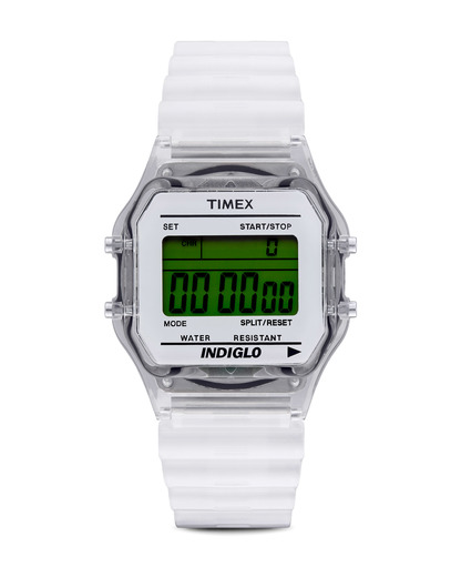 Digitaluhr Core Digital T2N803 TIMEX klar,weiß 753048402373