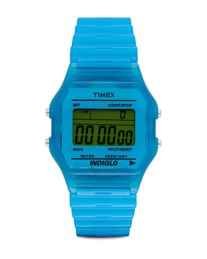Digitaluhr Core Digital T2N804 TIMEX blau 753048402380