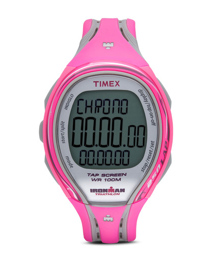 Digitaluhr Ironman Sleek 250 Lap T5K591 TIMEX grau,pink 753048401888