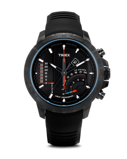 Chronograph Timex Linear Indicator T2P272 TIMEX schwarz 753048482351