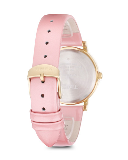 Quarzuhr Originals Classic in Rosa T2P332 TIMEX Damen Leder 753048507443