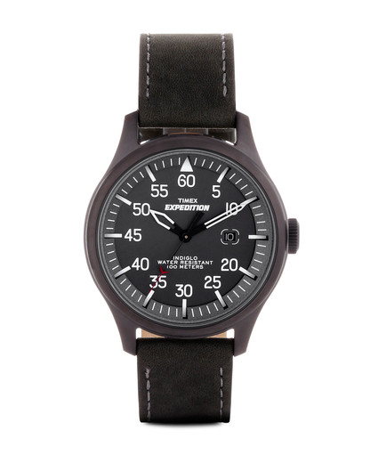 Quarzuhr Timex Expedition Military Field T49877 TIMEX schwarz 753048403837