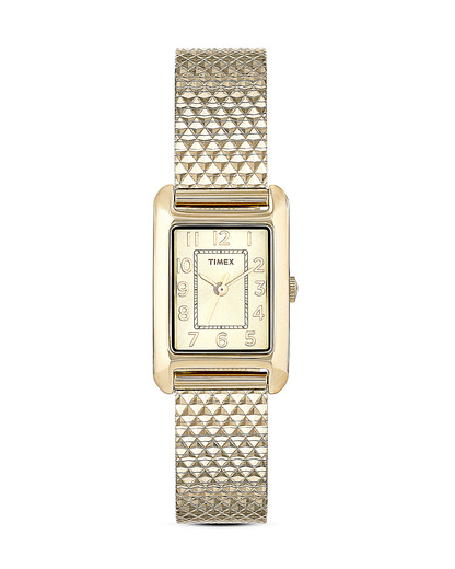 Quarzuhr Timex Women's Dress Bracelet T2P304 TIMEX gold 753048531400