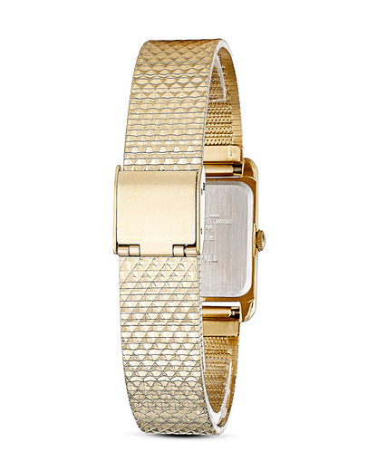 Quarzuhr Timex Women's Dress Bracelet T2P304 TIMEX Damen Edelstahl vergoldet 753048531400