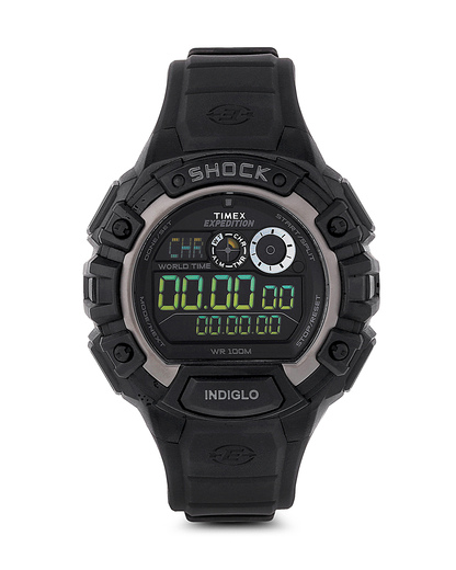 Digitaluhr Timex Expedition Global Shock schwarz T49970 TIMEX schwarz 753048526741