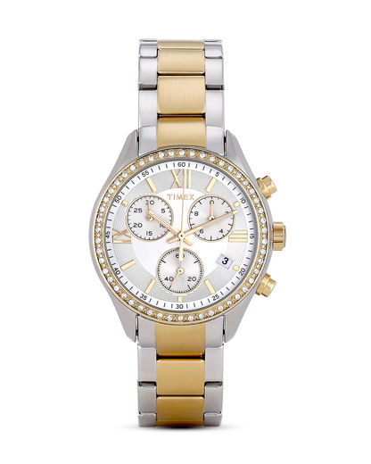 Chronograph Miami TW2P67000 gold-silber TIMEX gold,silber 753048578825
