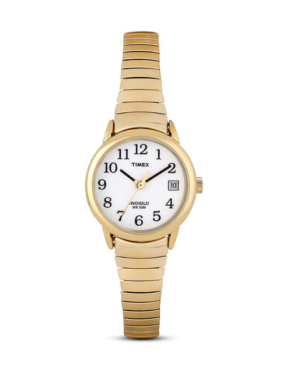 Quarzuhr Timex® Easy Reader® T2H351 TIMEX gold 753048185689