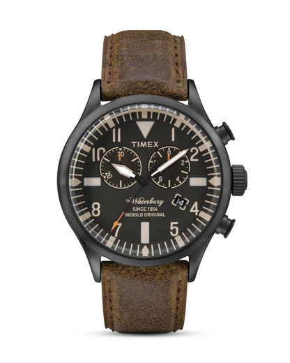 Chronograph The Waterbury TW2P64800 TIMEX braun,schwarz 753048563012