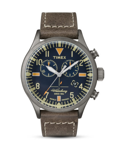 Chronograph The Waterbury TW2P84100 TIMEX braun,grau 753048618972