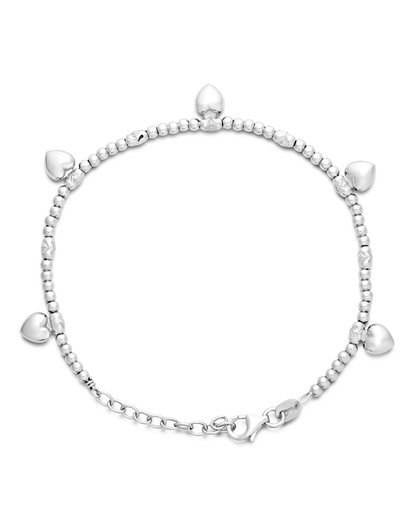 Armband 'Herz' aus 925 Sterling Silber  Anna-Malou 5420053366611