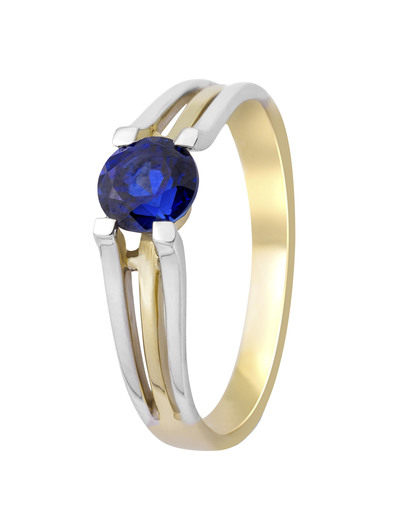 Ring aus 375 Bicolor-Gold  VALERIA