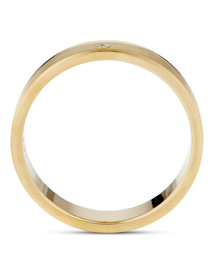 Ring aus 333 Gold mit Diamant VALERIA Eheringe gold Diamant