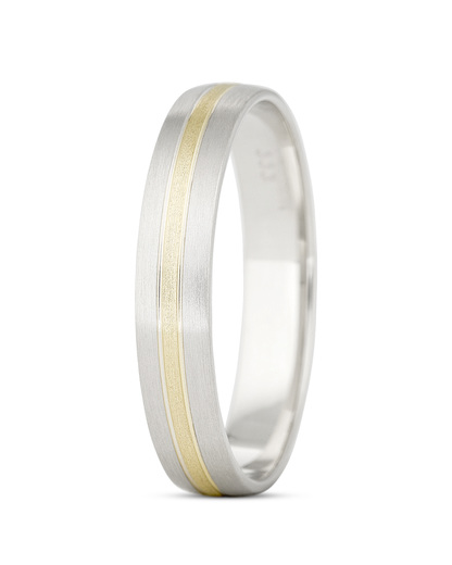 Ring aus 333 Bicolor-Gold VALERIA Eheringe