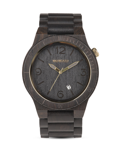 Quarzuhr Alpha Black/Gold WW08005 WEWOOD schwarz 610373989088