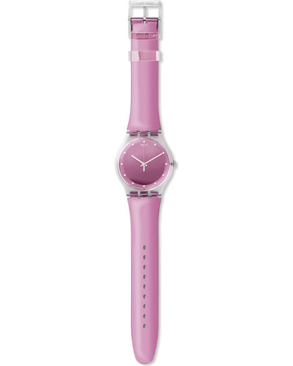 Swatch Damen-Uhren Analog Quarz Swatch Damen Kunststoff 7610522692053