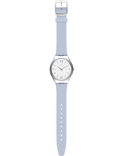 Swatch Damen-Uhren Analog Quarz Swatch violett 7610522820838